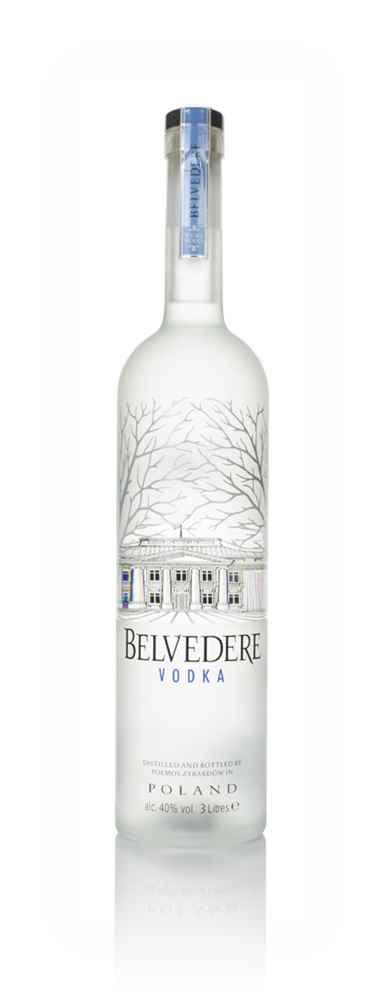 Belvedere Vodka with Light 3l