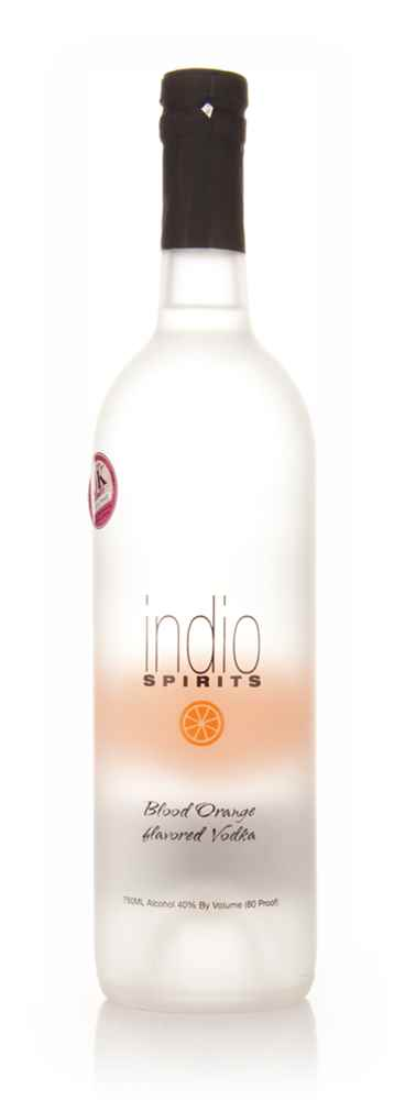 Indio Spirits Blood Orange Flavored Vodka