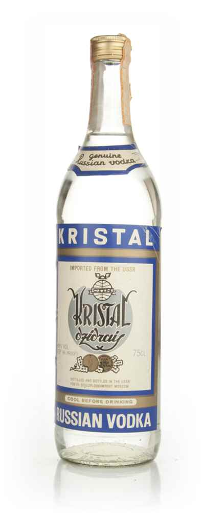 Kristal Russian Vodka - 1970s