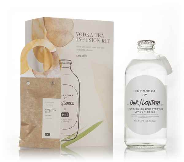 Our/London Vodka Tea Infusion Kit - Earl Grey