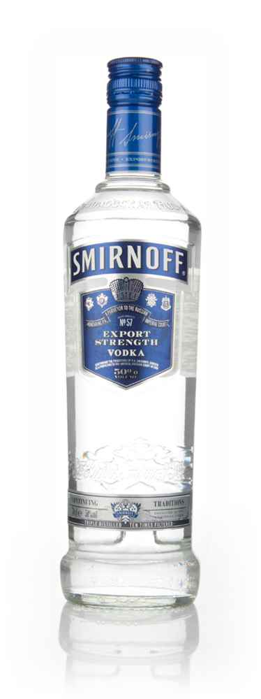 Smirnoff Blue No 57 Export Strength (50%)