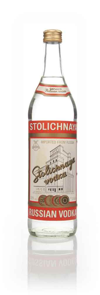 Stolichnaya Red Vodka - Early 1980s