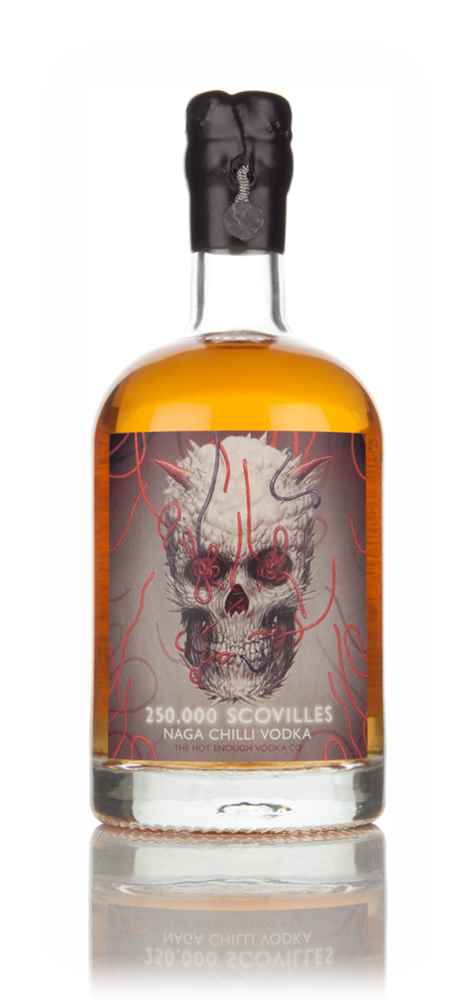 250,000 Scovilles Naga Chilli Vodka 50cl