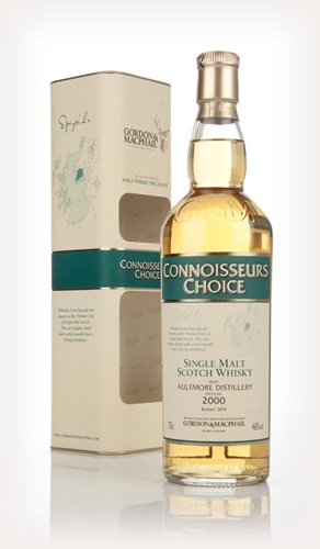 Aultmore 2000 (bottled 2014) - Connoisseurs Choice (Gordon & MacPhail)