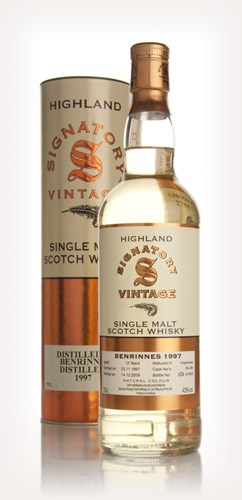 Benrinnes 12 Year Old 1997 (Signatory)