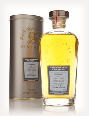 Bowmore 23 Year Old 1985 - Cask Strength Collection (Signatory)