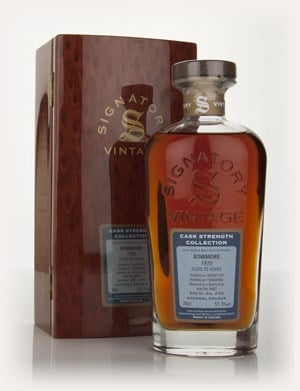 Bowmore 35 Year Old 1970 - Cask Strength Collection Rare Reserve (Signatory)