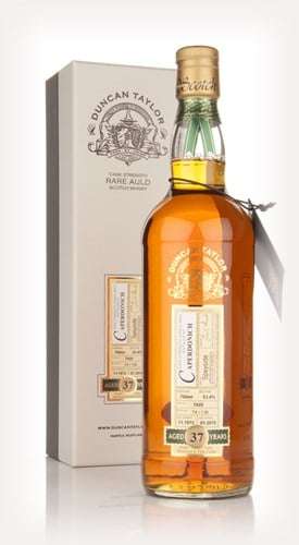 Caperdonich 37 Year Old 1972 Cask 7420 - Rare Auld (Duncan Taylor)