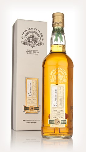Caperdonich 38 Year Old 1972 - Rare Auld (Duncan Taylor)