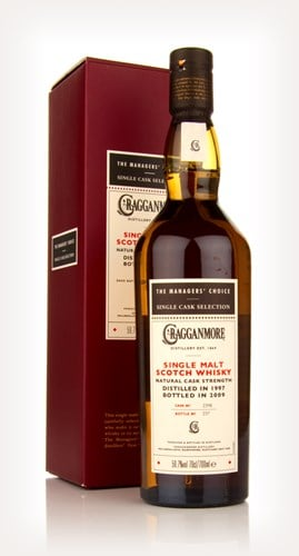 Cragganmore 1997 - Managers Choice