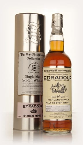 Edradour 10 Year Old 2002 (cask 461) - Un-Chillfiltered (Signatory)