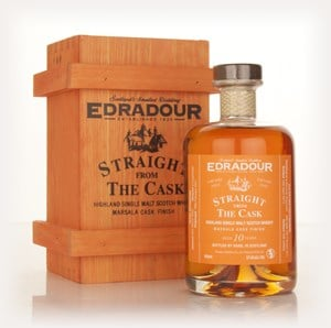 Edradour 10 Year Old 2002 Marsala Cask Finish - Straight From The Cask