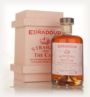 Edradour 11 Year Old 2002 Châteauneuf-du-Pape Cask Finish - Straight From The Cask