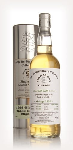 Glen Elgin 13 Year Old 1996 - Un-Chillfiltered (Signatory)