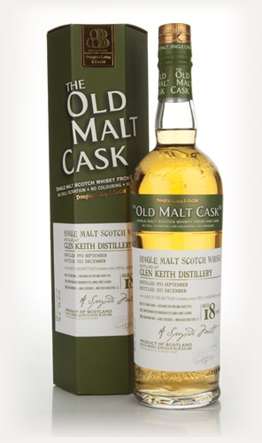 Glen Keith 18 Year Old 1993 - Old Malt Cask (Douglas Laing)