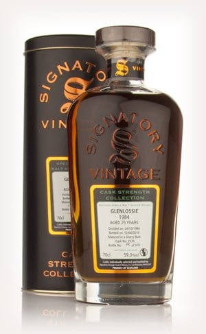 Glenlossie 25 Year Old 1984 - Cask Strength Collection (Signatory)