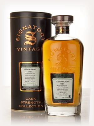 Glentauchers 30 Year Old 1981 Cask 1057 - Cask Strength Collection (Signatory)