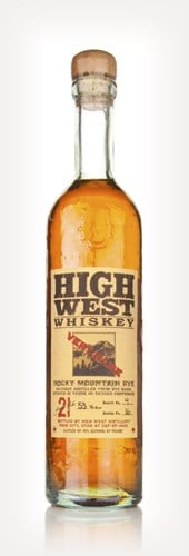 High West Rocky Mountain Rye 21 Year Old
