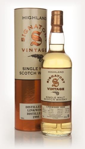 Linkwood 18 Year Old 1995 (casks 654+655) (Signatory)