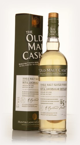 Lochnagar 15 Year Old 1997 (cask 9818) - Old Malt Cask (Hunter Laing)