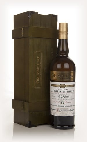 Macallan 25 Year Old 1988 - Old Malt Cask 15th Anniversary (Hunter Laing)