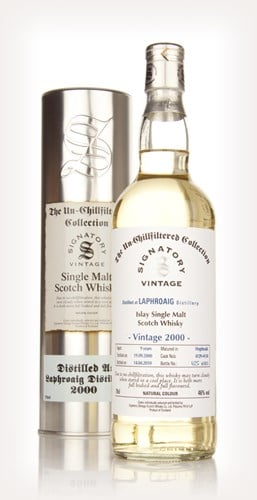 Laphroaig 9 Year Old 2000 - Un-Chillfiltered (Signatory)