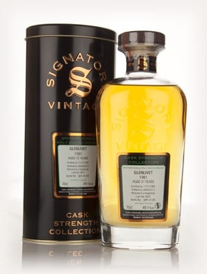 Glenlivet 31 Year Old 1981 (cask 9631) - Cask Strength Collection (Signatory)