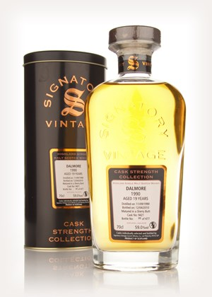 Dalmore 19 Year Old 1990 - Cask Strength Collection (Signatory)