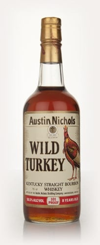 Wild Turkey 8 Year Old - early 1980s