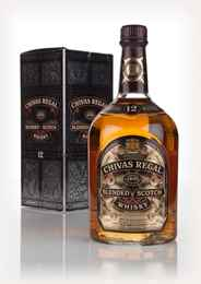 Chivas Regal 12 Year Old 100cl - 1980s