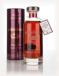 Edradour 14 Year Old 2000 (cask 3148) Natural Cask Strength - Ibisco Decanter