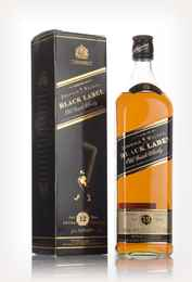Johnnie Walker 12 Year Old Black Label post - 1999