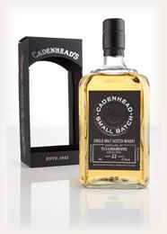 Tullibardine 22 Year Old 1993 - Small Batch (WM Cadenhead) 3cl Sample