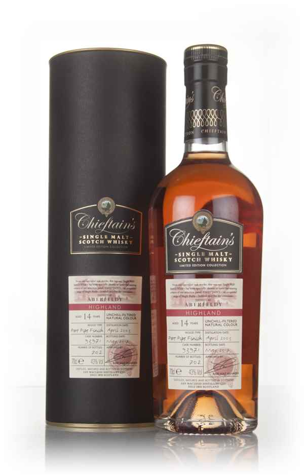 Aberfeldy 14 Year Old 2003 (cask 93971) - Chieftain's (Ian Macleod)