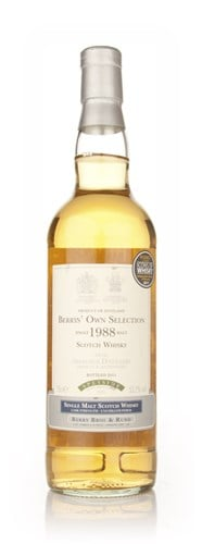 Aberlour 1988 (bottled 2011) (cask 5551) -  (Berry Bros. & Rudd)