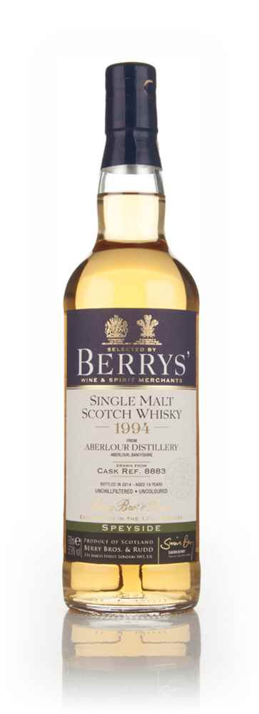 Aberlour 19 Year Old 1994 (cask 8883) (Berry Bros. & Rudd)