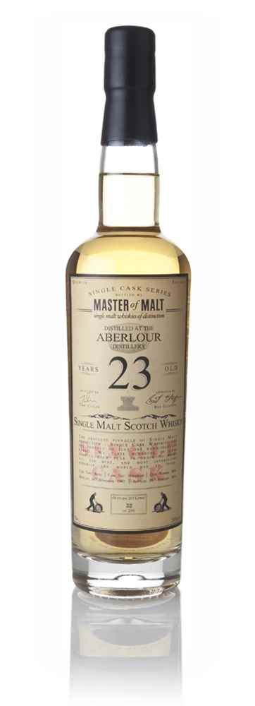 Aberlour 23 Year Old September 1992 - Single Cask (Master of Malt)