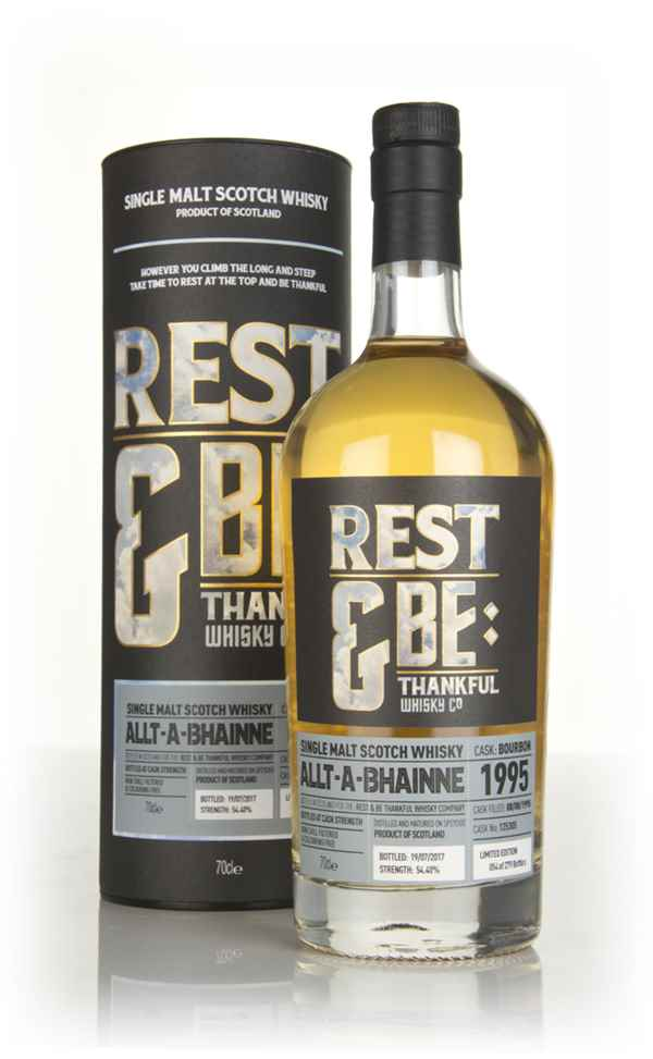 Allt-á-Bhainne 21 Year Old 1995 (cask 125305) (Rest & Be Thankful)