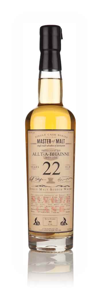 Allt-á-Bhainne 22 Year Old 1992 - Single Cask (Master of Malt)