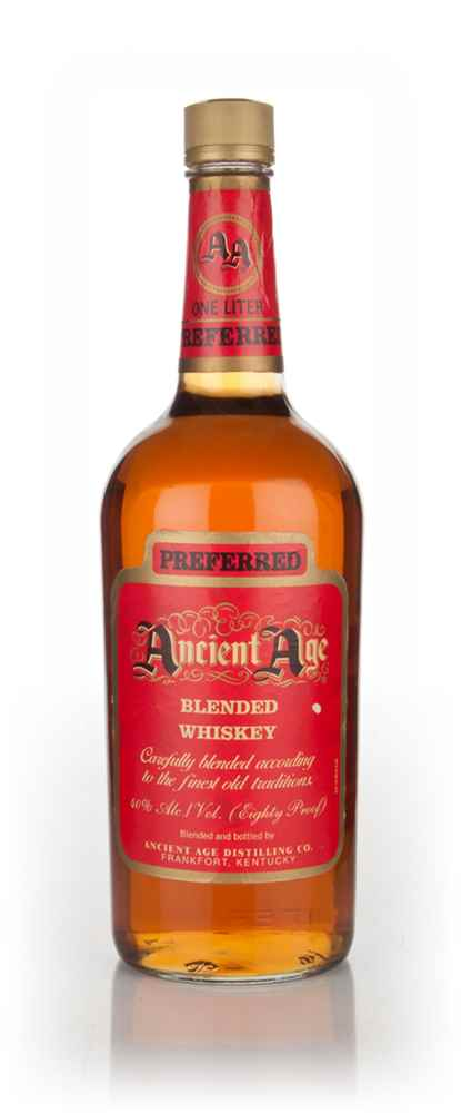Ancient Age Preferred Blended Whiskey - 1980s