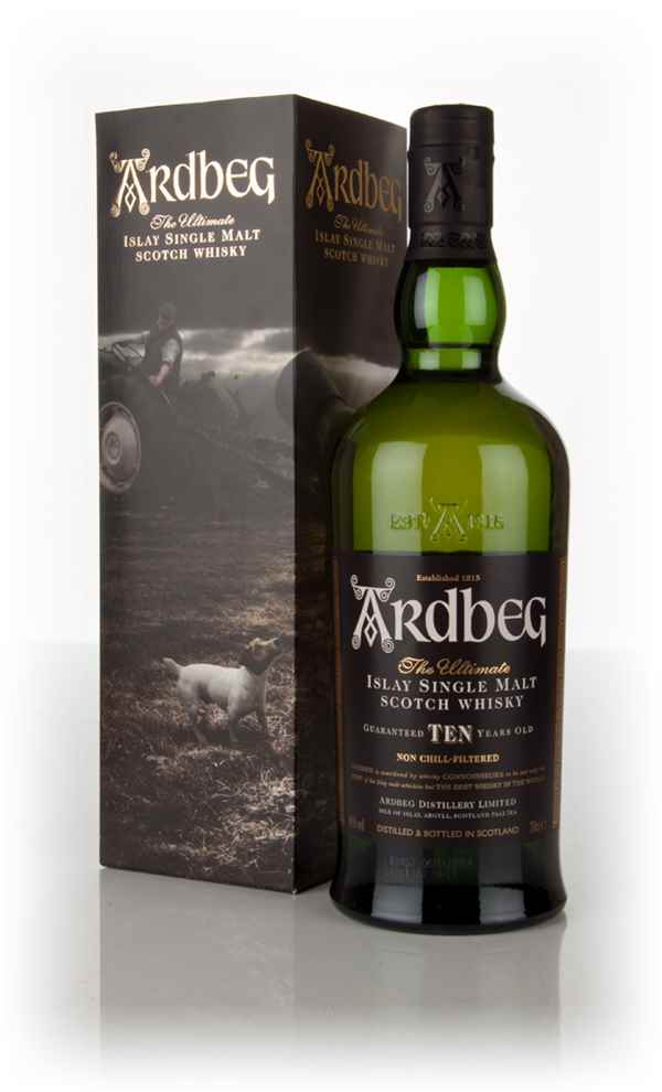 Ardbeg 10 Year Old - Tractor Sleeve