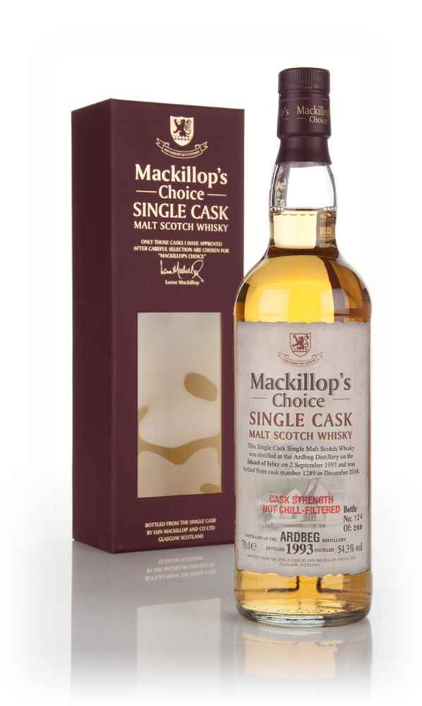 Ardbeg 21 Years Old 1993 (cask 1289) - Mackillop's Choice