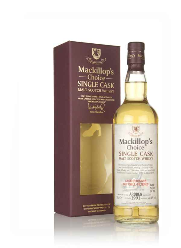 Ardbeg 26 Year Old 1991 (cask 1922) - Mackillop's Choice
