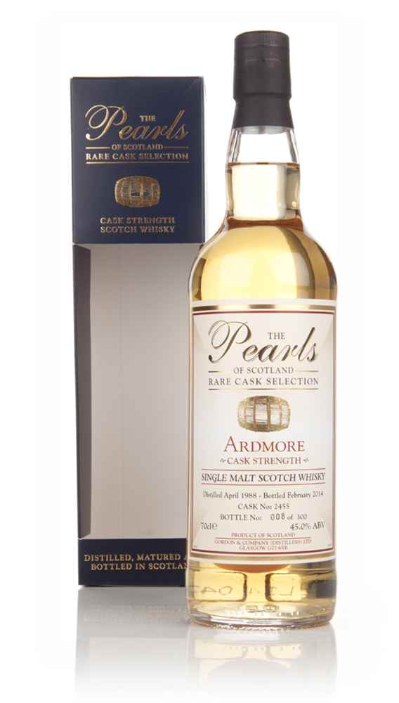Ardmore 25 Year Old 1988 (cask 2455) - Pearls of Scotland (Gordon & Company)