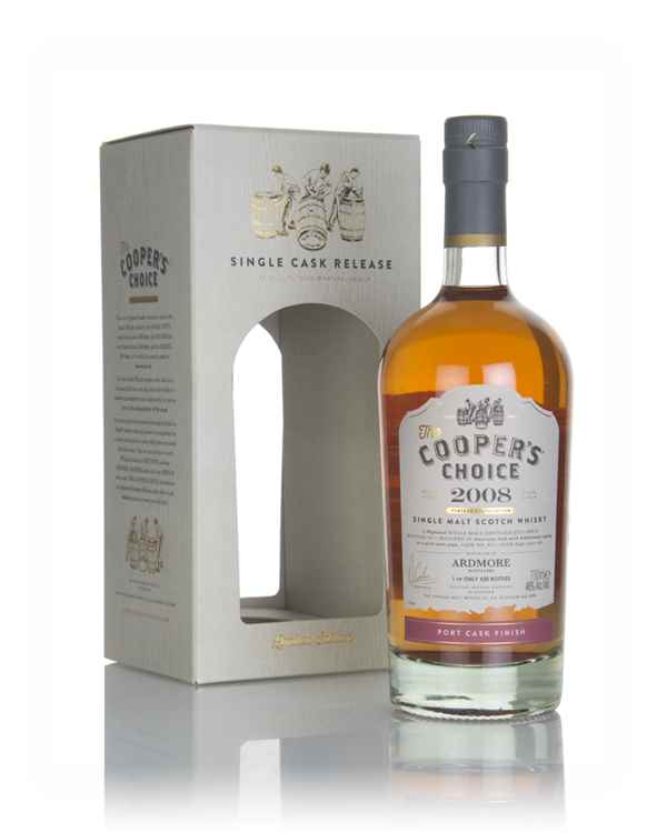 Ardmore 8 Year Old 2008 (cask 823) - The Cooper's Choice (The Vintage Malt Whisky Co.)