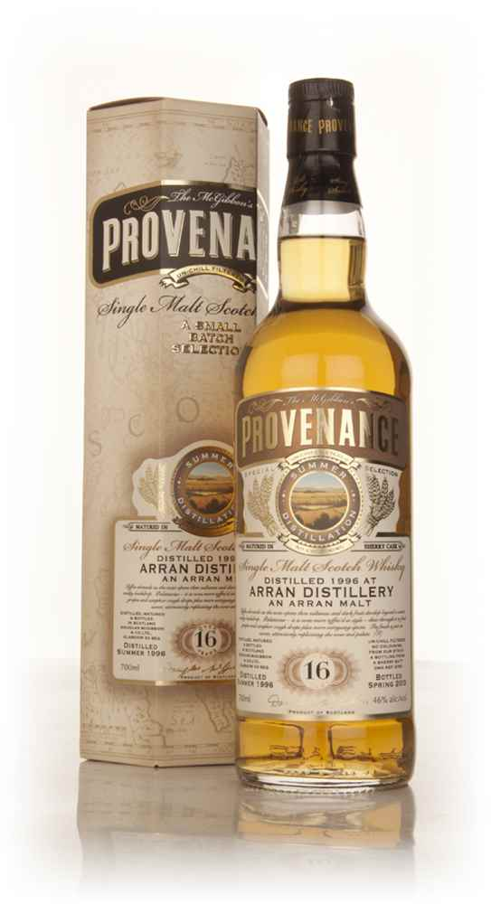 Arran 16 Year Old 1996 (cask 9753) - Provenance (Douglas Laing)