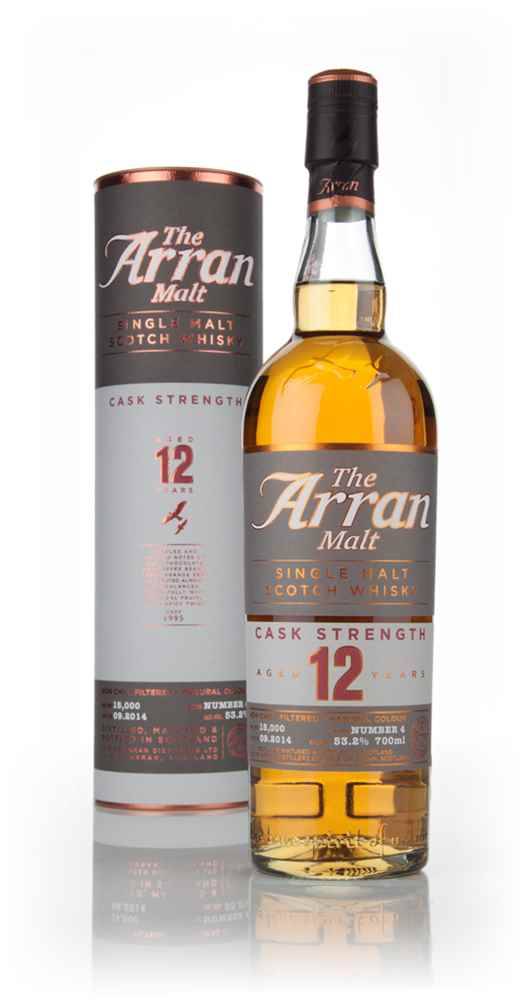 Arran 12 Year Old Cask Strength - Batch 4