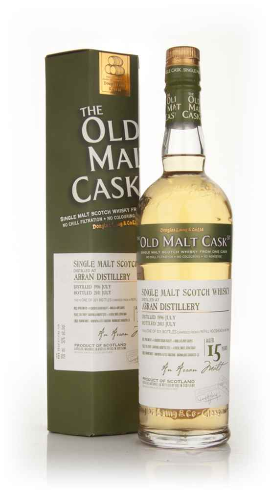 Arran 15 Year Old 1996 - Old Malt Cask (Douglas Laing)