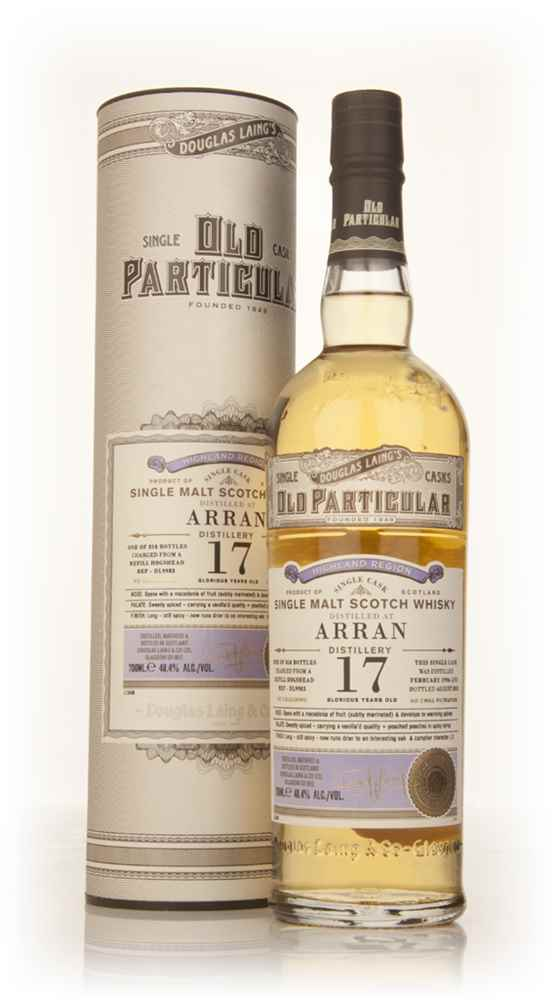 Arran 17 Year Old 1996 (cask 9983) - Old Particular (Douglas Laing)