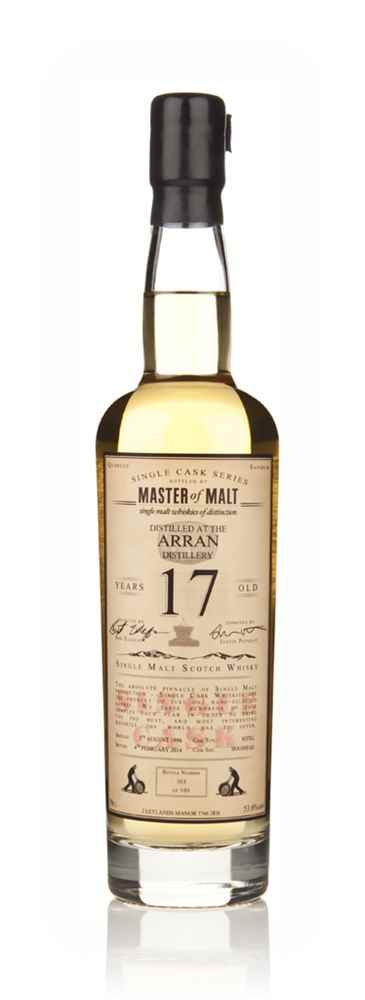 Arran 17 Year Old 1996 - Single Cask (Master of Malt)